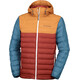 Columbia Powder Lite Hooded Jacket Men Rusty/Canyon Gold